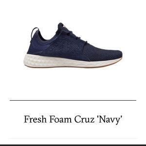 New Balance Fresh Foam Cruz Navy